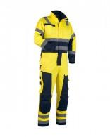 Lángálló MULTINORM overall6378-1506-3389yellow-navy-front